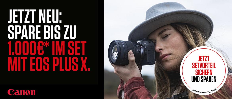 Canon EOS-Plus-X Aktion